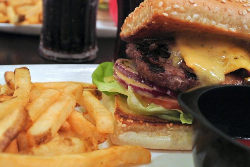 burger islande