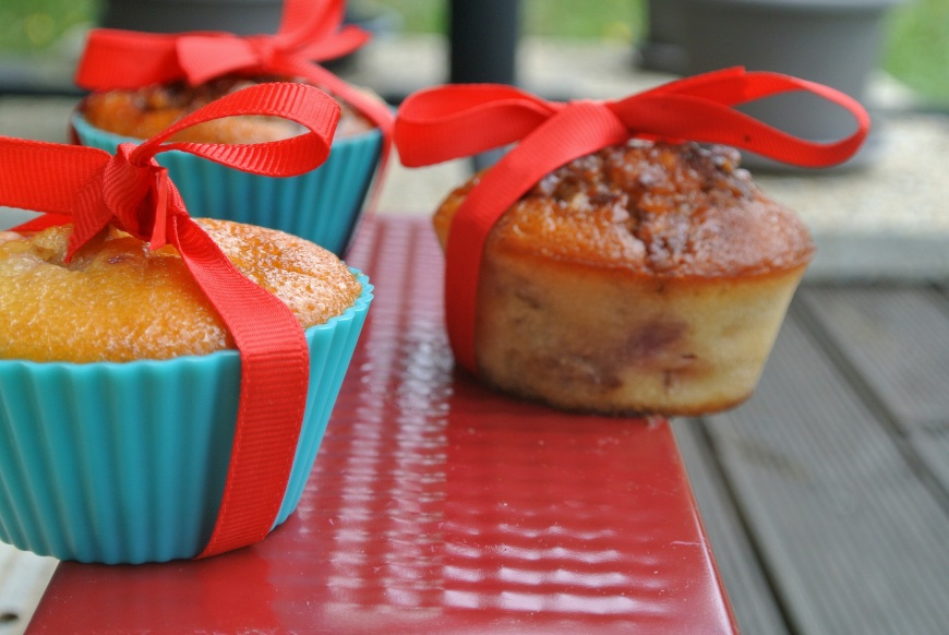 muffins peche