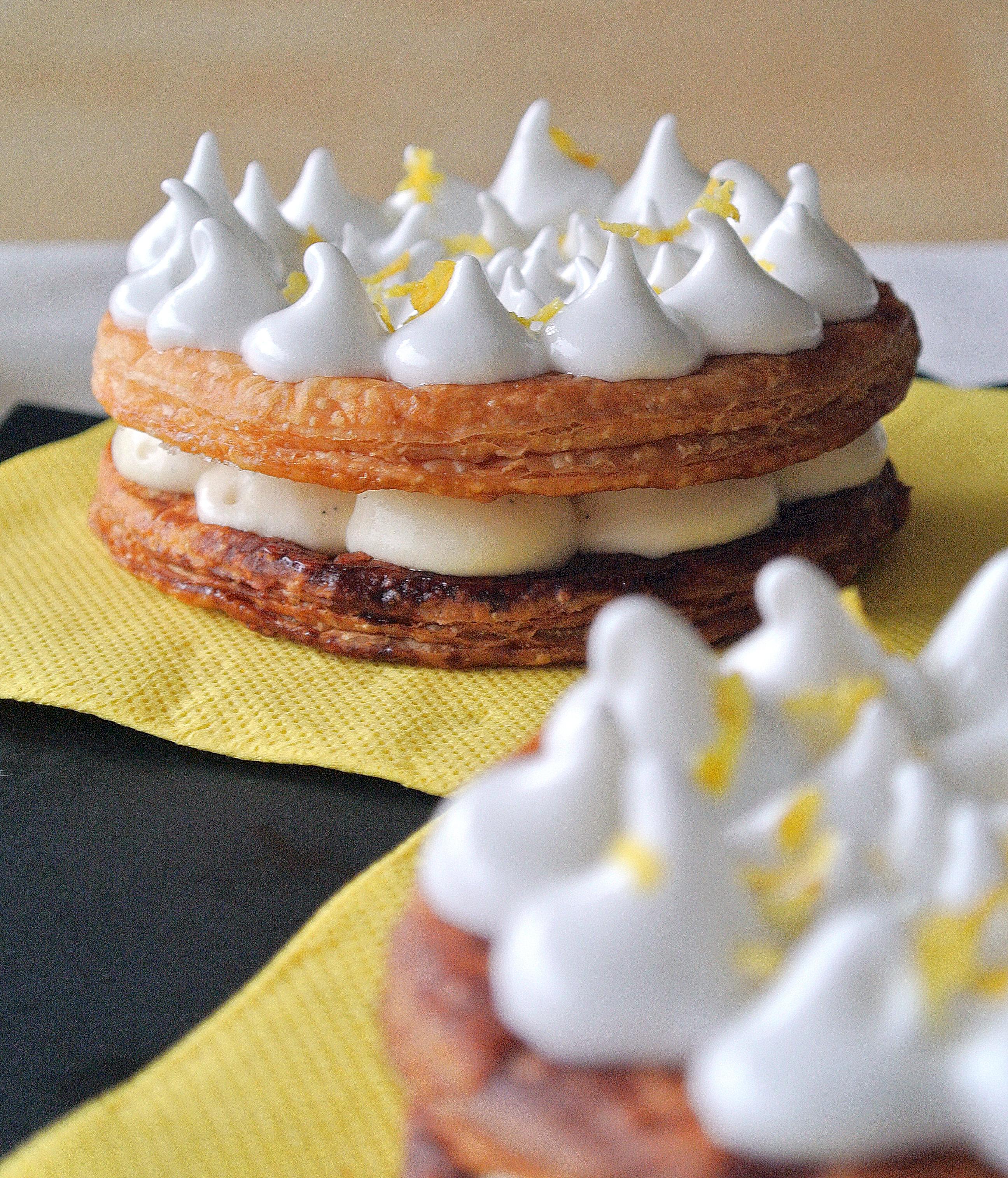 Tarte au citron revisit e en mille feuille cook 39 n blog for Chambre 13 vanille et citron
